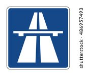 germany motorway sign