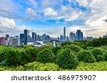 shenzhen  china   september ... | Shutterstock . vector #486975907
