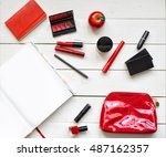 collection of different... | Shutterstock . vector #487162357