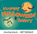 happy halloween  party. text....