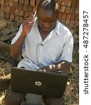 harare zimbabwe august 14 2016. ...   Shutterstock . vector #487278457