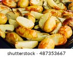 Delicious Roasted Potatoes Jus...