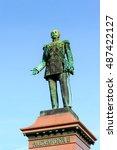 Small photo of Alexander II statue in Helsinki, Finland
