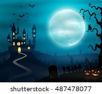 vector illustration of... | Shutterstock .eps vector #487478077