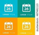 26th calendar four color...