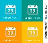 29th calendar four color...