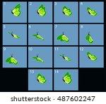 Animation Of Flight Green...