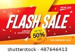 Flash Sale Banner Template...