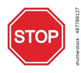 stop sign   symbol icon