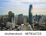 highlight shadow of bangkok... | Shutterstock . vector #487816723