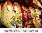 Clogs For Sale At A Dutch Shop...