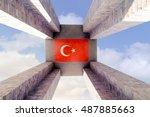 canakkale  turkey   sep 13 ...   Shutterstock . vector #487885663