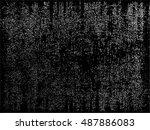 distress  dirt texture . simply ... | Shutterstock .eps vector #487886083