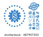 payment options pictograph with ... | Shutterstock .eps vector #487907353