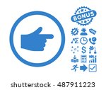 index pointer pictograph with...