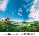 mtskheta  georgia. the ancient... | Shutterstock . vector #488002663