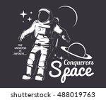 traveler universe. universe... | Shutterstock .eps vector #488019763