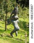 merano  bolzano  italy   ... | Shutterstock . vector #488135887