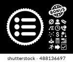 items icon with bonus pictogram....