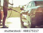 car washing and detailing photo.... | Shutterstock . vector #488175217