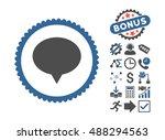 banner pictograph with bonus... | Shutterstock .eps vector #488294563