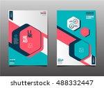 template design layout ... | Shutterstock .eps vector #488332447