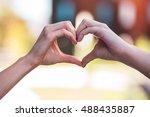 detail shot  two different...   Shutterstock . vector #488435887