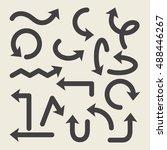 arrows vector set | Shutterstock .eps vector #488446267