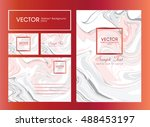 vector abstract background.... | Shutterstock .eps vector #488453197