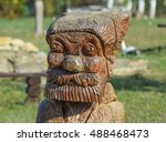 the face of a bearded old man... | Shutterstock . vector #488468473