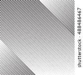 diagonal oblique edgy lines... | Shutterstock .eps vector #488486467