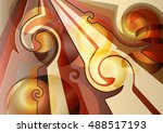 colorful abstract vector... | Shutterstock .eps vector #488517193