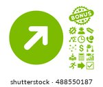 arrow right up pictograph with... | Shutterstock .eps vector #488550187