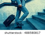 close up of businessman... | Shutterstock . vector #488580817