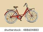 hand drawn sketch illustration... | Shutterstock .eps vector #488604883