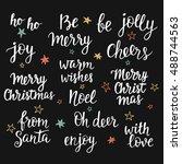 Christmas Holidays Hand...