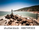 view from the promenade of... | Shutterstock . vector #488749303