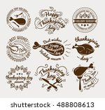 set of labels design template... | Shutterstock .eps vector #488808613