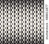 vector seamless black and white ... | Shutterstock .eps vector #488811877