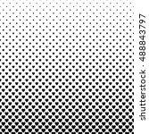 abstract monochrome heart... | Shutterstock .eps vector #488843797