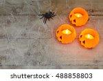Halloween Concept With A Orang...