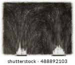 texture with scratched... | Shutterstock . vector #488892103