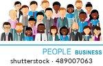 concept of vector  african... | Shutterstock .eps vector #489007063