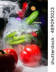 Pepper And Cucumberin Smoke....