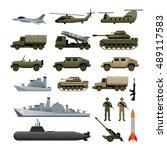 Military Vehicles Object Set ...