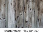old antique wood board plank... | Shutterstock . vector #489134257