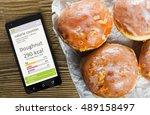 calorie counter concept  ... | Shutterstock . vector #489158497
