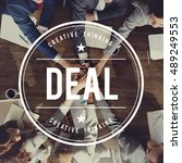 Small photo of Deal Agreement Agreed Collaboration Unity Concept
