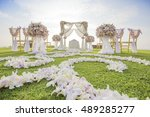 luxury wedding in phuket | Shutterstock . vector #489285277