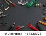 particle maker kit  electronics ... | Shutterstock . vector #489320323